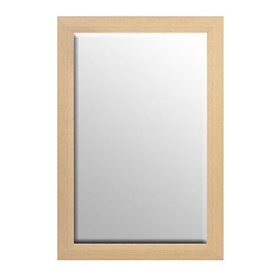 Cream Driftwood Framed Mirror, 37x56