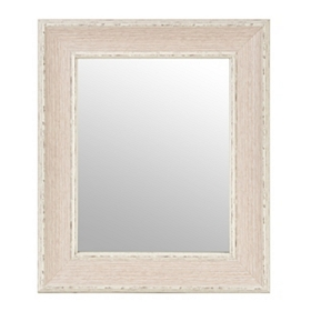 Dockside White Framed Mirror, 16x19