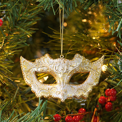 Masquerade Mask Ornament