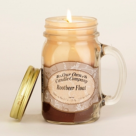 Root Beer Float Mason Jar Candle