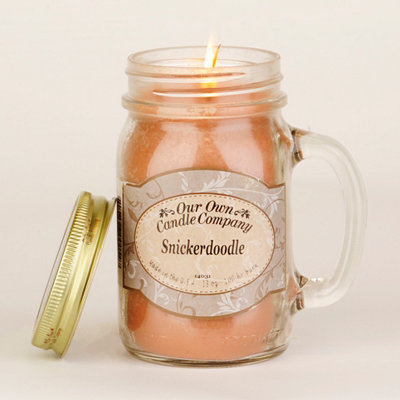 Snickerdoodle Mason Jar Candle
