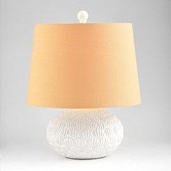 White Sea Urchin Table Lamp