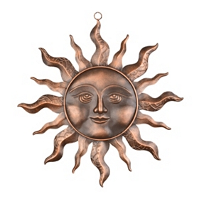 Celestial Sun Wall Plaque