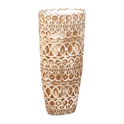 Ivory Cottage Lace Vase