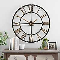 30 Inch Addison Open Face Clock