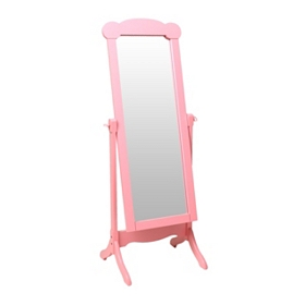 Princess Pink Cheval Mirror