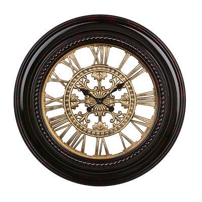 Tortoise & Gold Norwich Clock