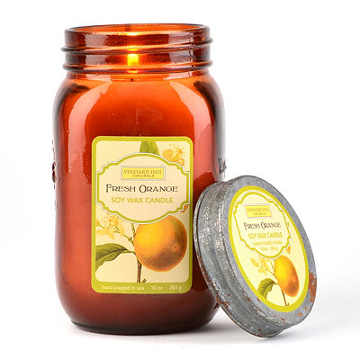 Fresh Orange Jar Candle
