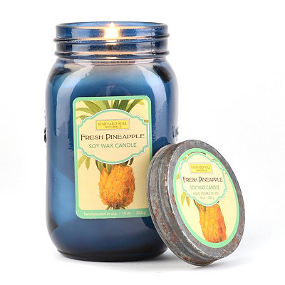 Fresh Pineapple Jar Candle