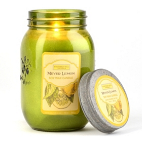 Meyer Lemon Jar Candle
