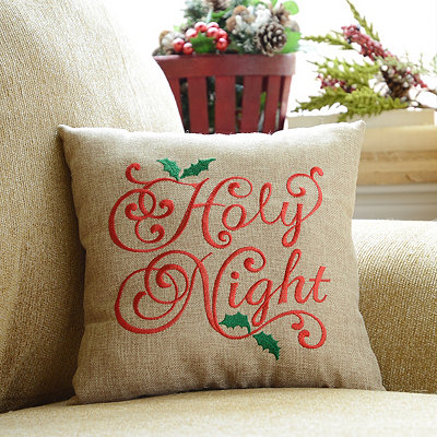 Holy Night Accent Pillow