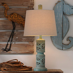Blue Island Table Lamp