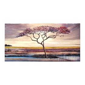 Sunset Field Canvas Art Print