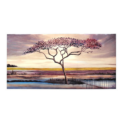 Sunset Field Canvas Art Print
