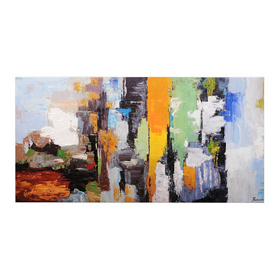 Color Story Canvas Art Print