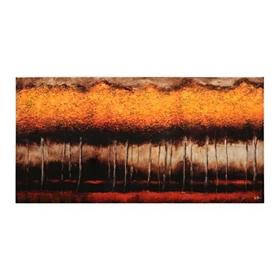 Golden Forest Canvas Art Print
