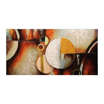 Abstract Geometric Canvas Art Print