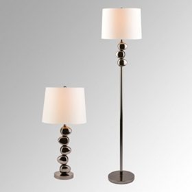 Rock Accent Lamps, Set of 2