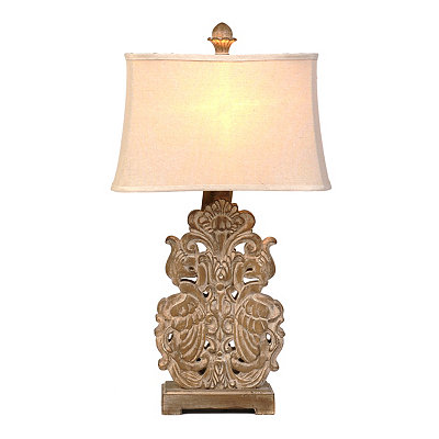 Bleached Sand Table Lamp