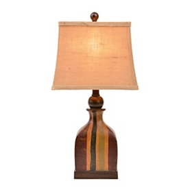 Global Stripes Table Lamp