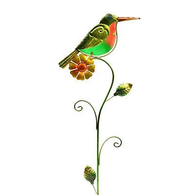 Green Bird Lawn Stake