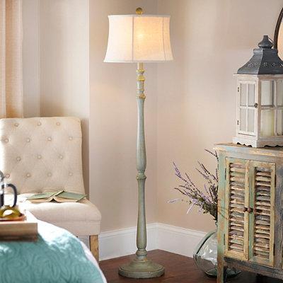 Cape Cod Gray Floor Lamp