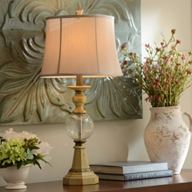 Calabria Orb Table Lamp