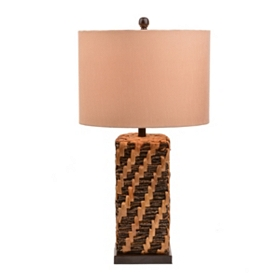 Hyacinth Stitch Table Lamp