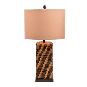Hyacinth Stitch Table Lamp