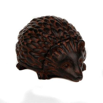 Bronze Hedgehog Hide-a-Key