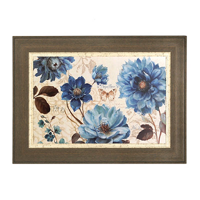 Blue Notes Framed Art Print