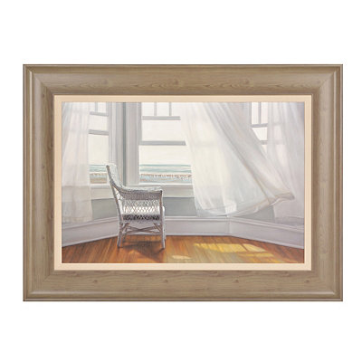 Waiting to Fly Framed Art Print