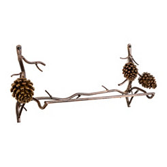 Pine Cone Towel Bar