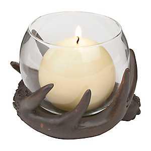 Antler Globe Candle Holder