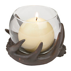 Antler Globe Candle Holder