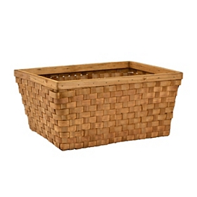 Chipwood Rectangular Storage Basket