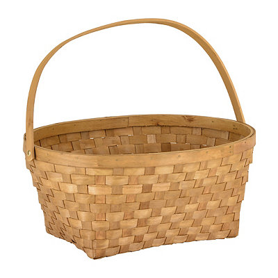 Chipwood Oval Storage Basket