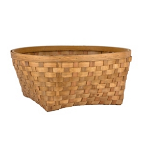 Chipwood Round Storage Basket