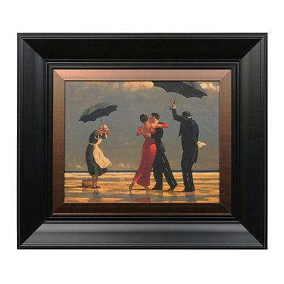 Singing Butler Framed Art Print