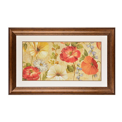 Botanical Tapestry Framed Art Print