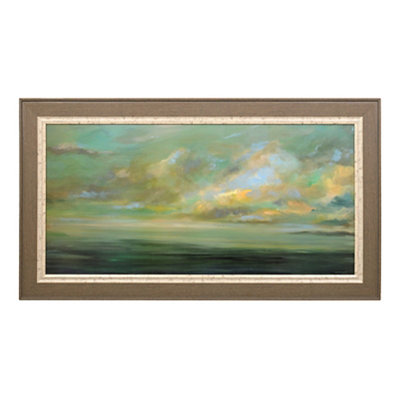 Sea at Sunrise Framed Art Print