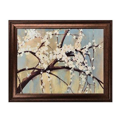 Osaka Blossoms Framed Art Print