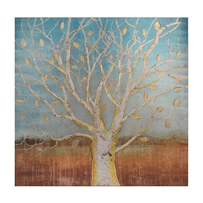 Longevity Metalllic Canvas Art Print