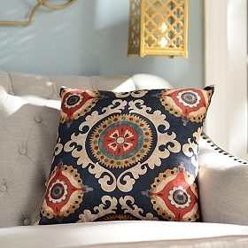Navy Valerie Pillow
