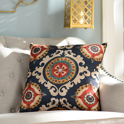 Navy Valerie Pillow