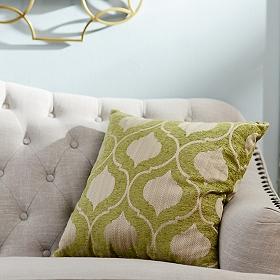 Green Vanness Pillow