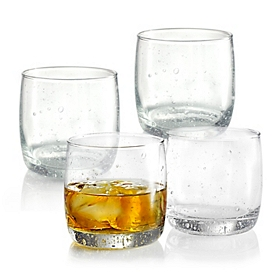 Bola Double Old Fashioned Bubble Glass, Set of 4