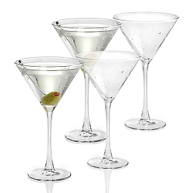 Bola Martini Glass, Set of 4
