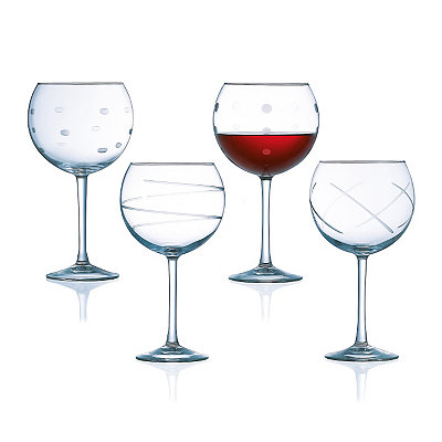 Soho Balloon Wine Glass, Set of 4