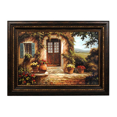 Pastoral Retreat Framed Print